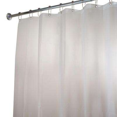 EVA Extra-Wide Shower Curtain Liner in Clear Frost