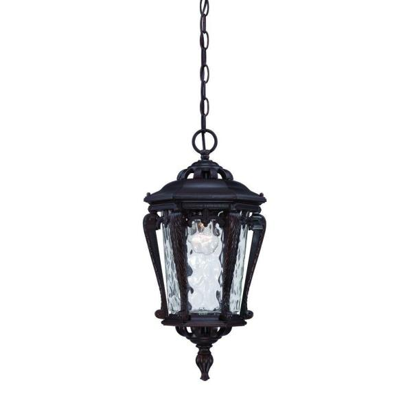 Stratford Collection Architectural Bronze Outdoor Hanging Light Fixture