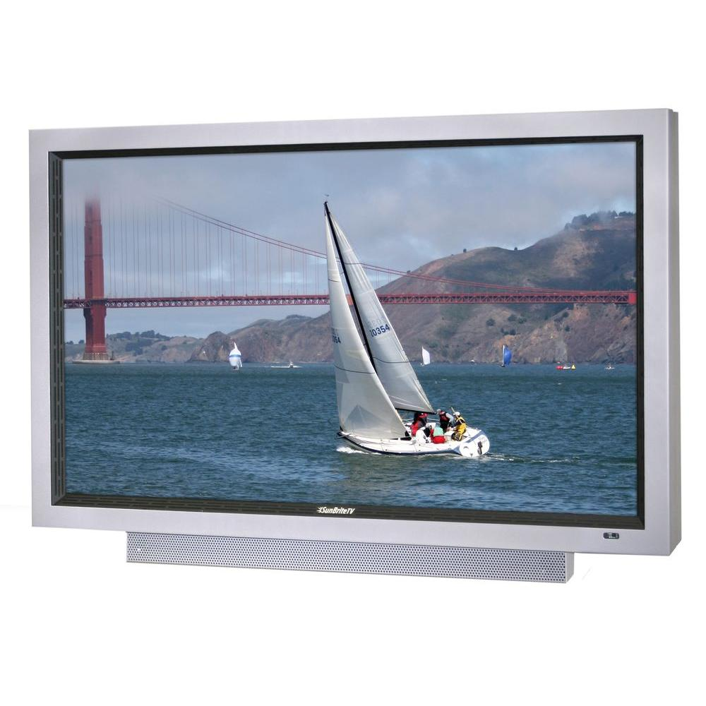 SunBriteTV Pro Series Weatherproof 46 in. Class LCD 1080P 60Hz Outdoor HDTV - Silver-DISCONTINUED