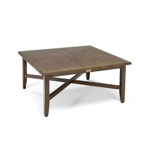 Bahamas Square Aluminum Outdoor Chat Table