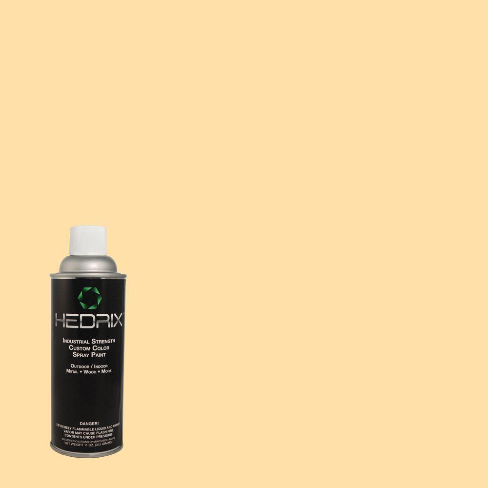 Hedrix 11 oz. Match of Melted Butter 300A-3 Gloss Custom Spray Paint (2-Pack)