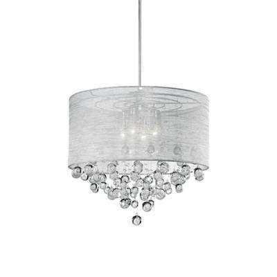 Ophelia 4-Light Chrome Pendant