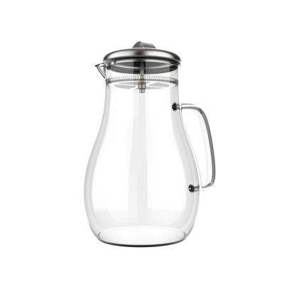 64 oz. Glass Pitcher with Lid