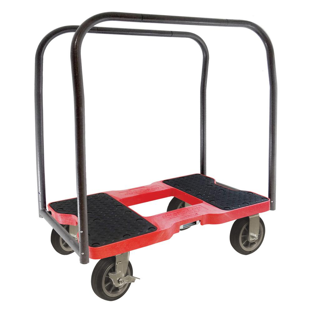 Capacity All Terrain Panel Cart Dolly In Red