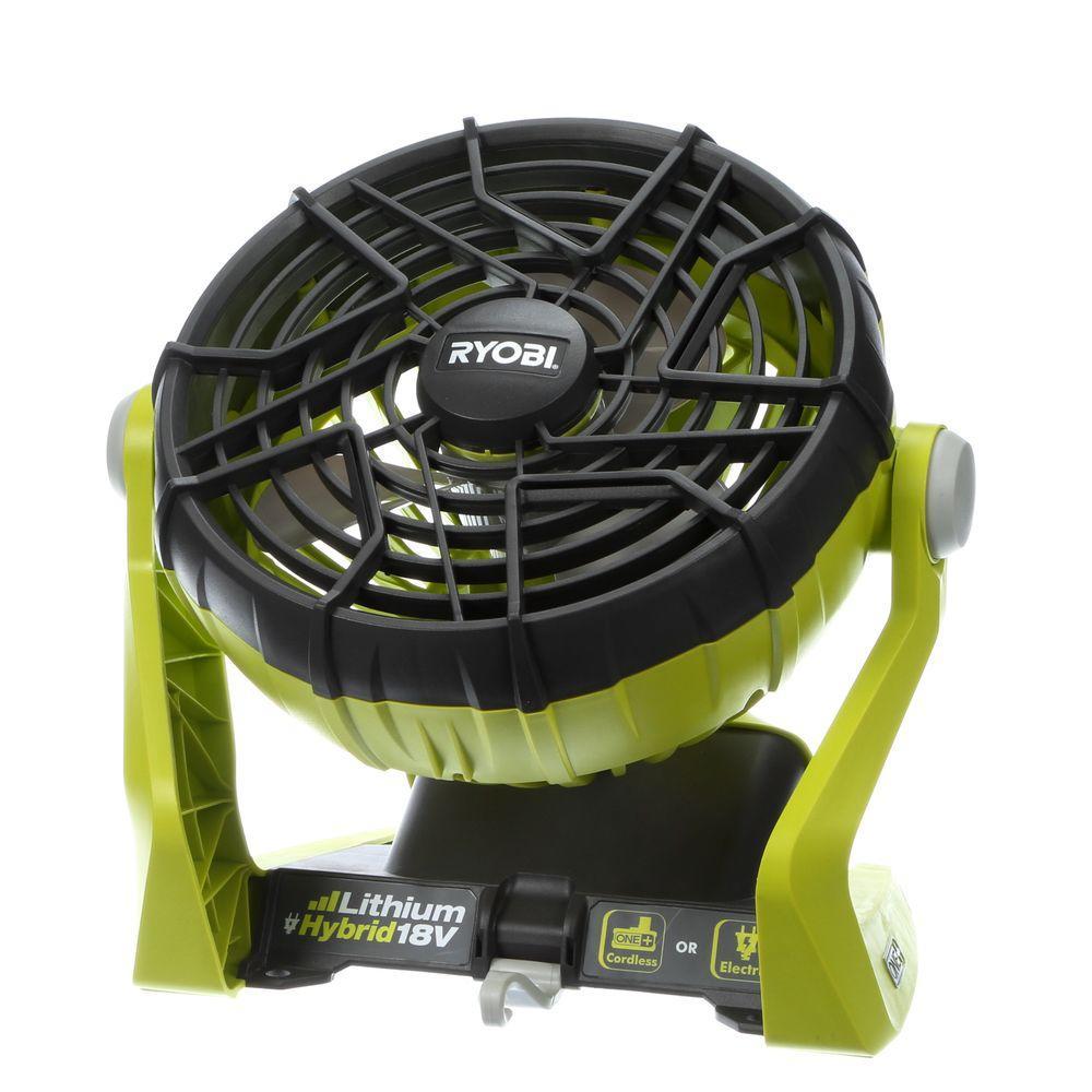 Ryobi 18 Volt One Hybrid Portable Fan Tool Only