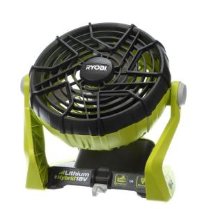 Ryobi 18 Volt One Hybrid Portable Fan Tool Only P3320
