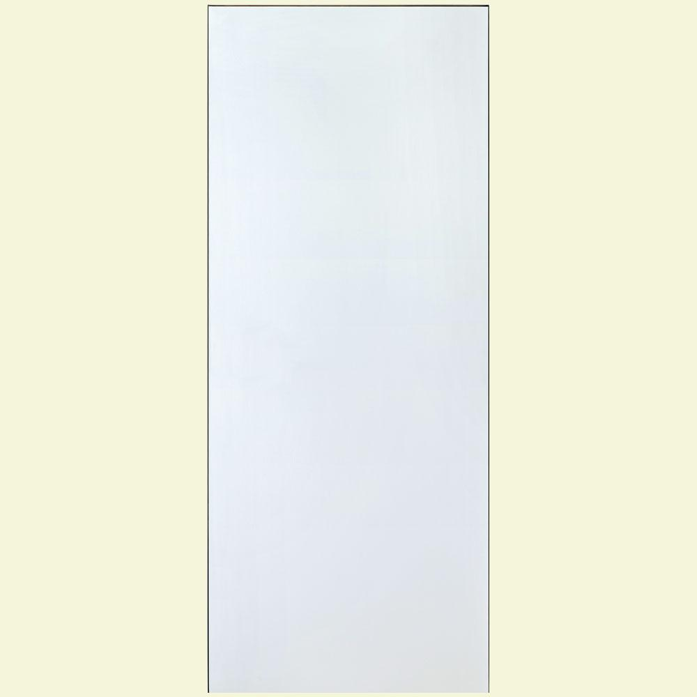Kimberly Bay 28 In X 80 In White 1 Panel Shaker Solid: Kimberly Bay 24 In. X 80 In. White 5-Panel Shaker Solid