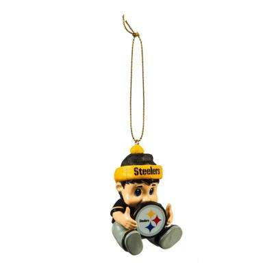 Pittsburgh Steelers 2 in. NFL New Lil Fan Christmas Ornament