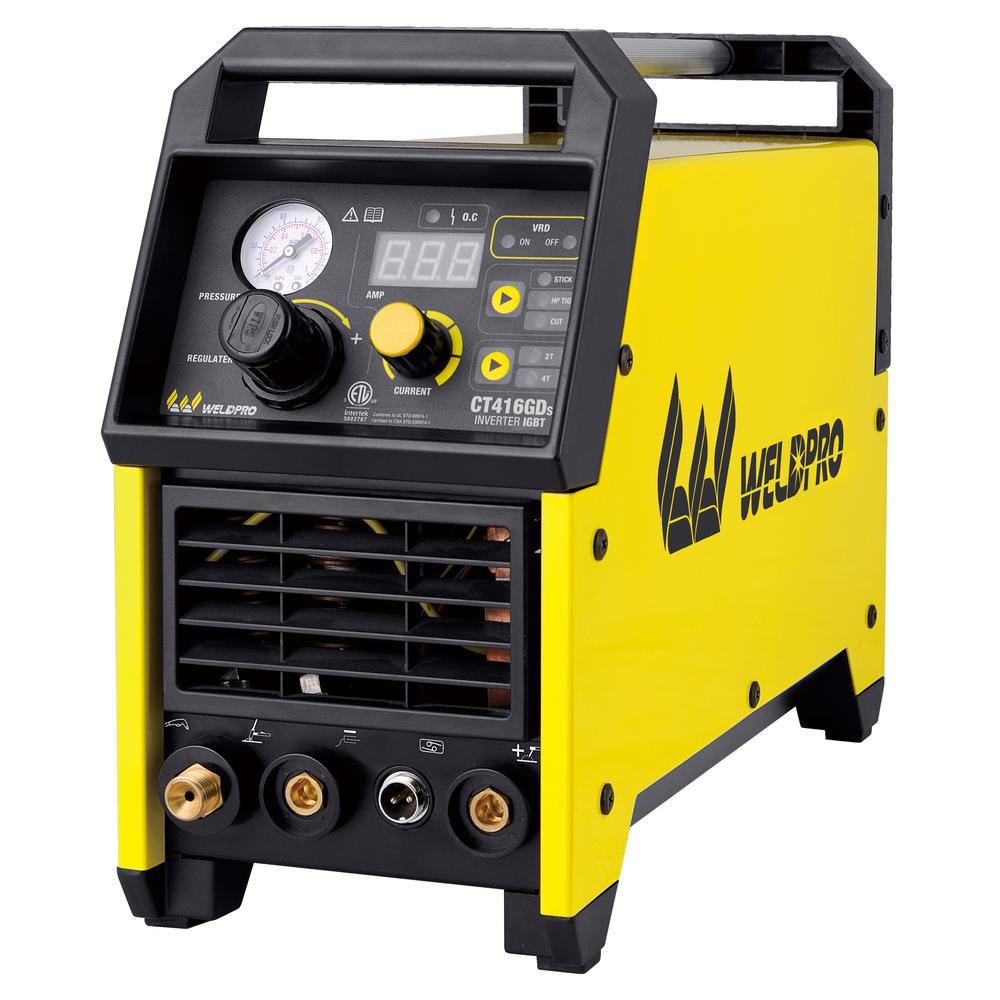 150/38 Amp Inverter TIG/Stick/Plasma Welder