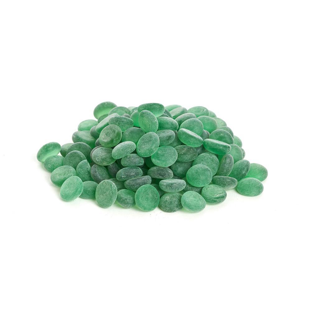 Shop Succulents Shop Succulents Soft Glass Pebbles, Emerald Green SGPEGREEN