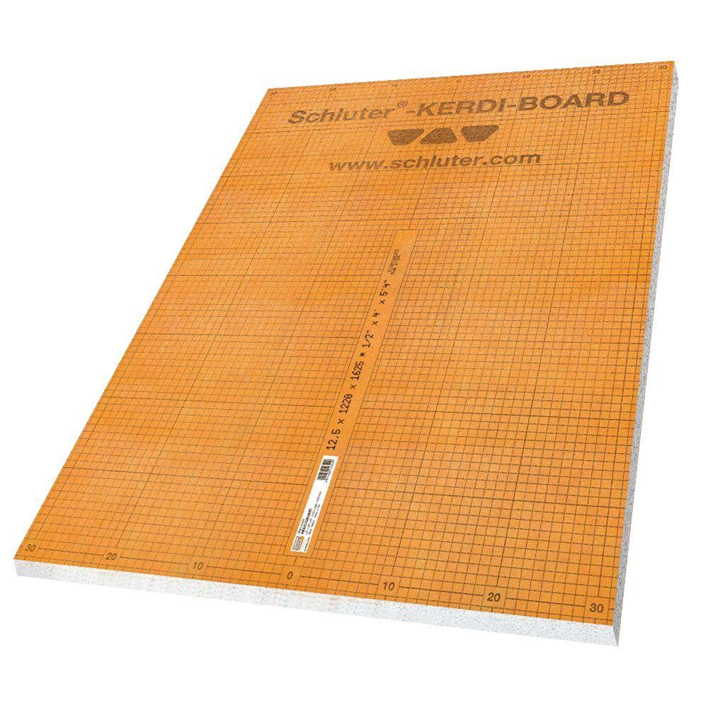 Schluter Kerdi-Board 1/2 In. X 48 In. X 96 In. Building
