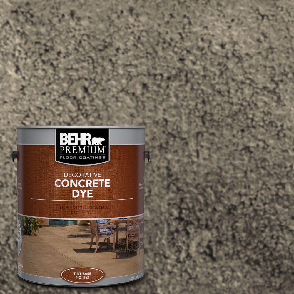 BEHR Premium 1 gal. #CD-835 Carob Concrete Dye