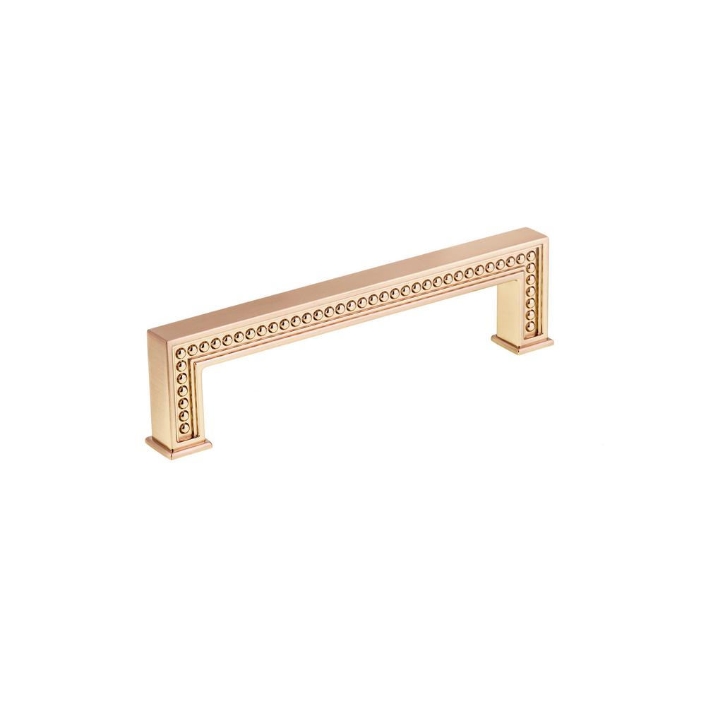 Richelieu Hardware 5 1 32 In 128 Mm Champagne Bronze Cabinet