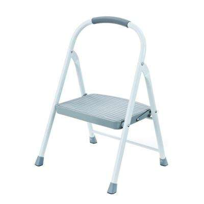 1-Step Steel Step Stool with 225 lb. Load Capacity Type II Duty Rating