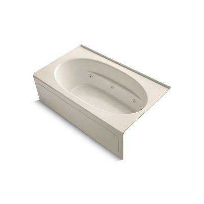 Windward 6 ft. Whirlpool Tub in Almond