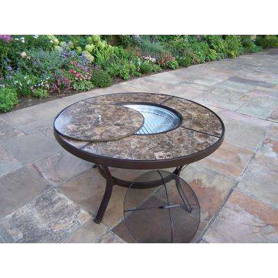 Stone Art Aluminum Outdoor Dining Table