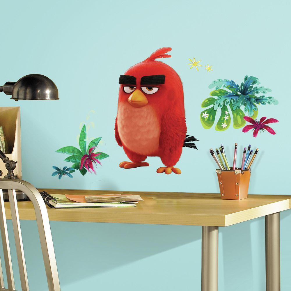 5 in. x 19 in. Angry Birds the Movie Red 6-Piece