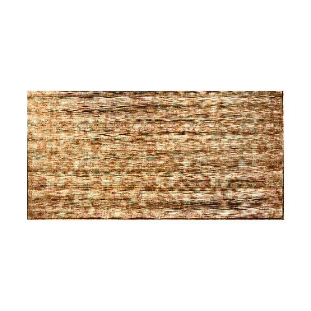 Fasade Ripple Horizontal 96 In. X 48 In. Decorative Wall