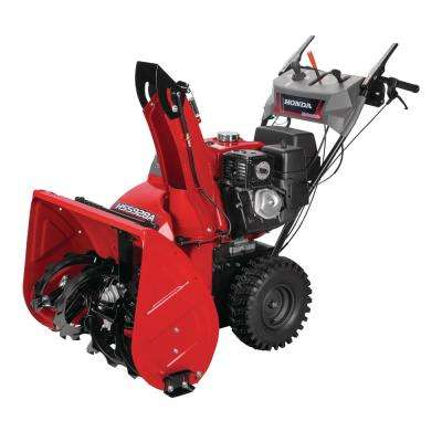 28 in. Hydrostatic Wheel Drive Two-Stage Gas Snow Blower with Electric Start and Joystick Chute Control