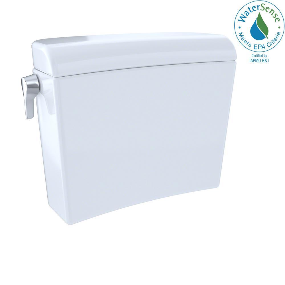 Maris 0.9/1.28 GPF Dual Flush Toilet Tank Only in Cotton White