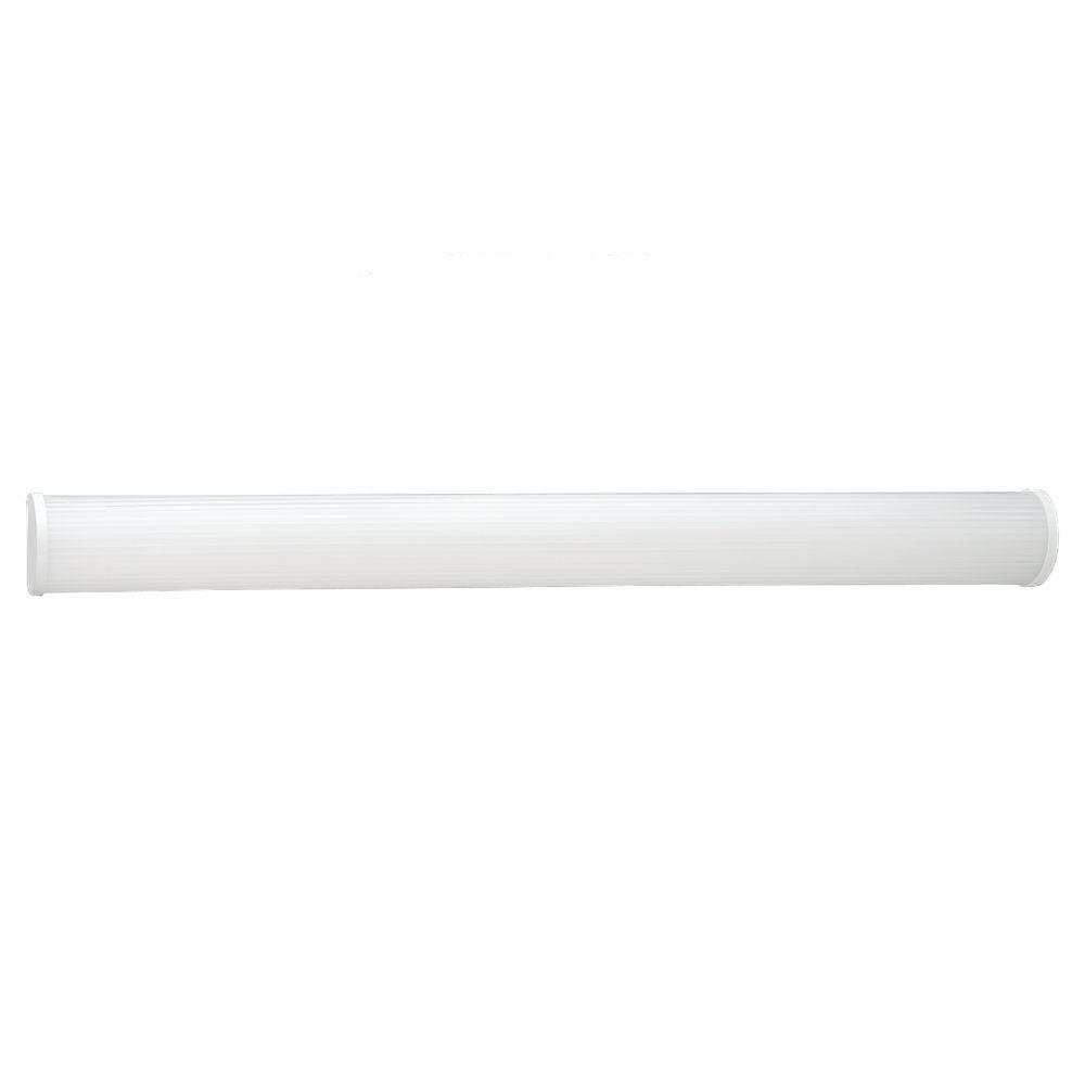 Sea Gull Lighting 2-Light White Fluorescent Wall / Bath Vanity Fixture-DISCONTINUED