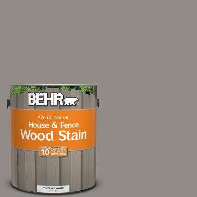 1 gal. #790F-4 Creek Bend Solid House and Fence Wood Stain