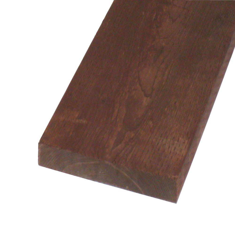 null Pressure-Treated Lumber HF Brown Stain (Common: 2 in. x 12 in. x 20 ft.; Actual: 1.5 in. x 11.25 in. x 240 in.)