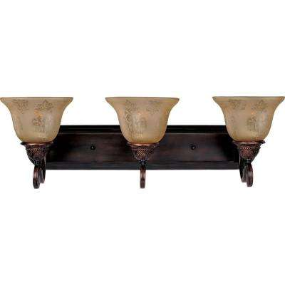 Symphony 3-Light Oil-Rubbed Bronze Bath Vanity Light