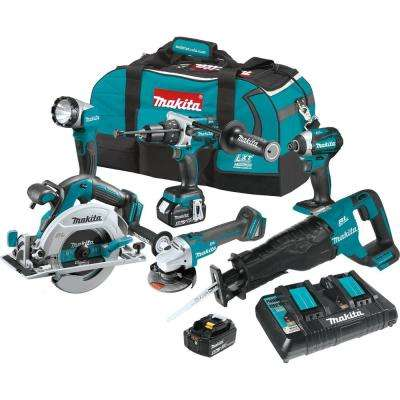 6 - makita - power tool combo kits - power tools - the home depot