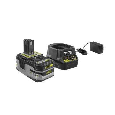 ONE+ 18V Lithium-Ion 4.0 Ah LITHIUM+ HP High Capacity Battery and Charger