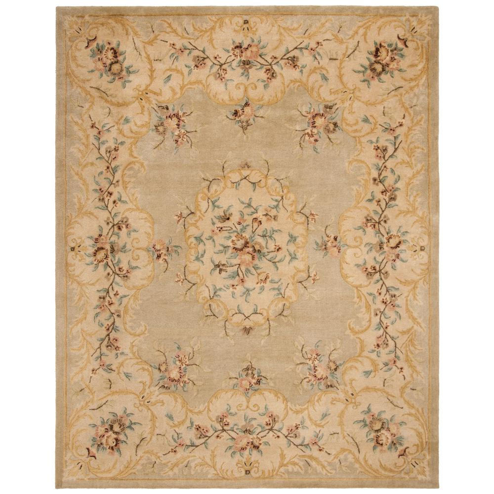 Safavieh Bergama Light Green Beige 8 Ft X 10 Ft Area Rug Brg166b 8 The Home Depot