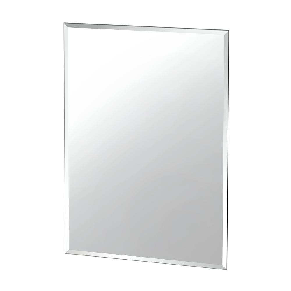 Gatco Flush Mount 28 In X 36 In Frameless Rectangle Wall Mirror 1804 The Home Depot