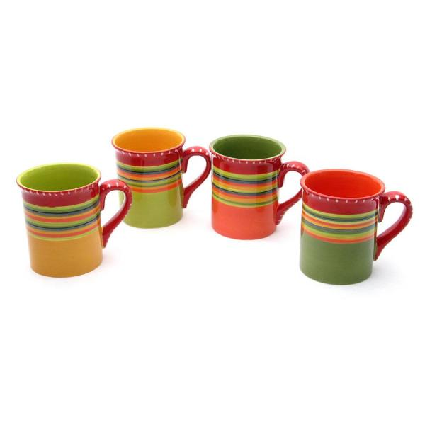 20999fbcc25 Certified International Hot Tamale 18 oz. Mug (Set of 4) 14274SET/4 ...