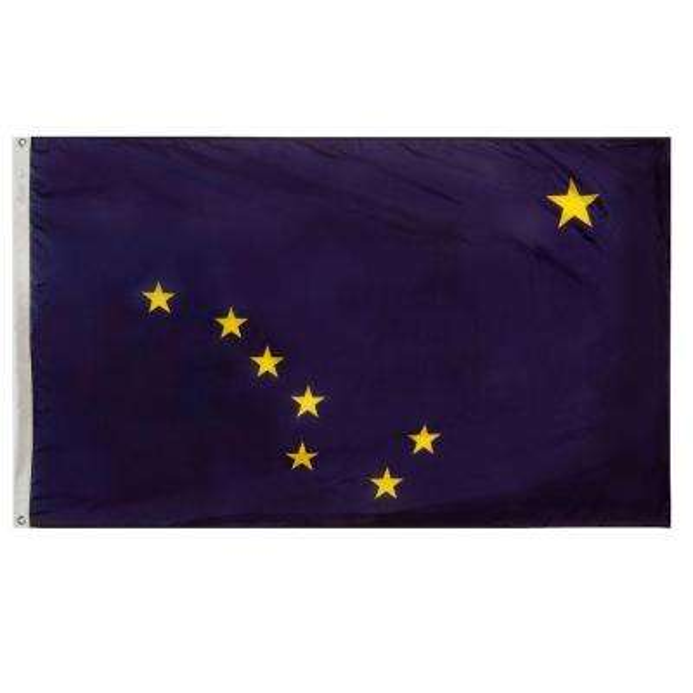 2 ft. x 3 ft. Alaska State Flag
