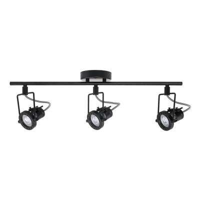 Desmond Collection Led 3 Light Black Track