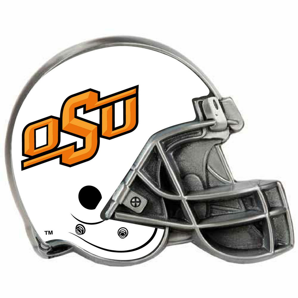 timeless design f5373 f471a Great American Products Oklahoma State Cowboys Helmet Hitch Cover