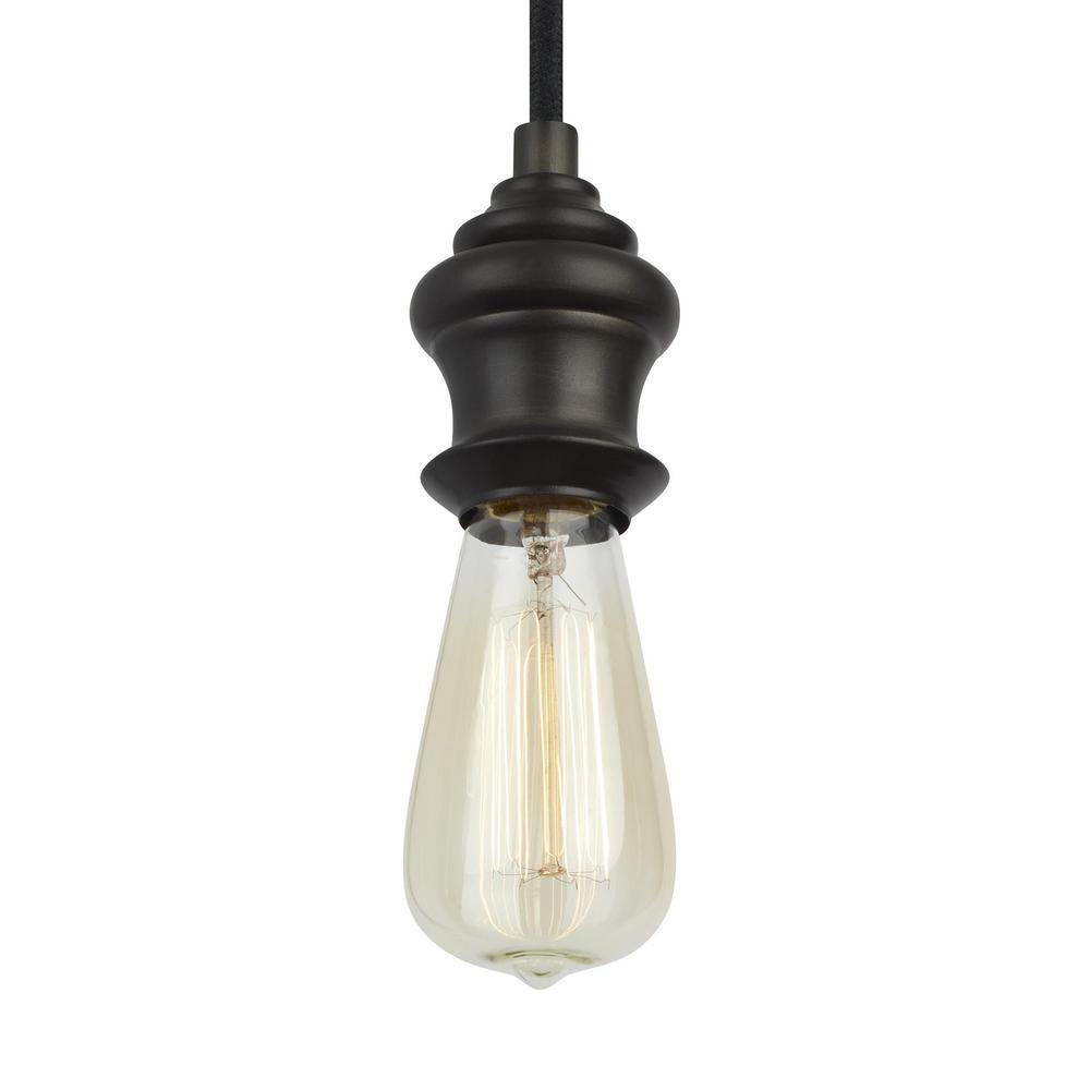 Corddello 1-Light Aged Pewter Mini Pendant