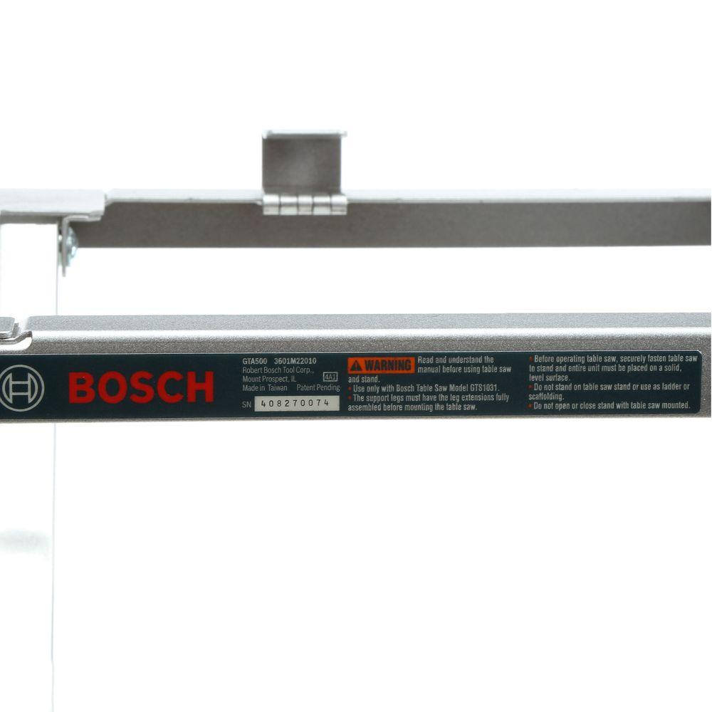 Bosch Portable 10 in  Table Saw Folding Stand Compatible with GTS1031