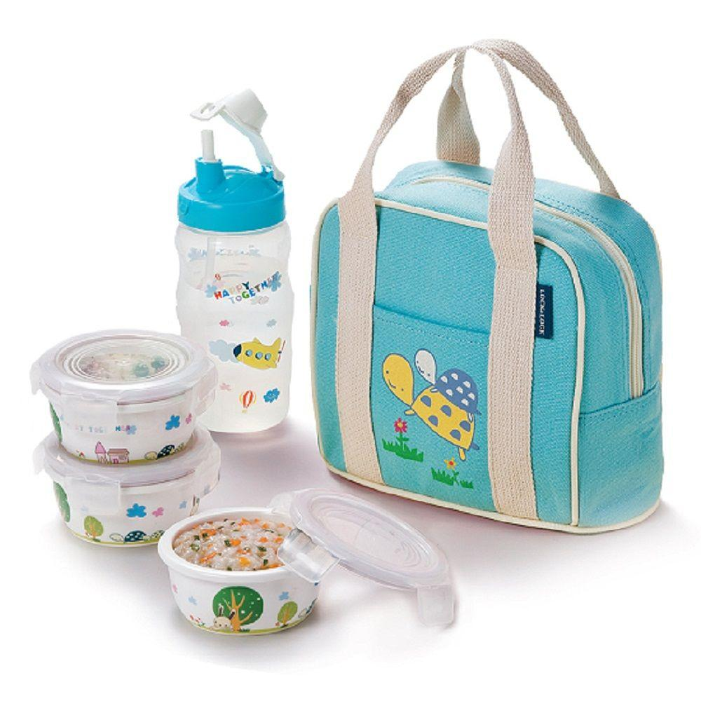 Lock and Lock Silby Ceramic Baby 3pc St Blue-DISCONTINUED