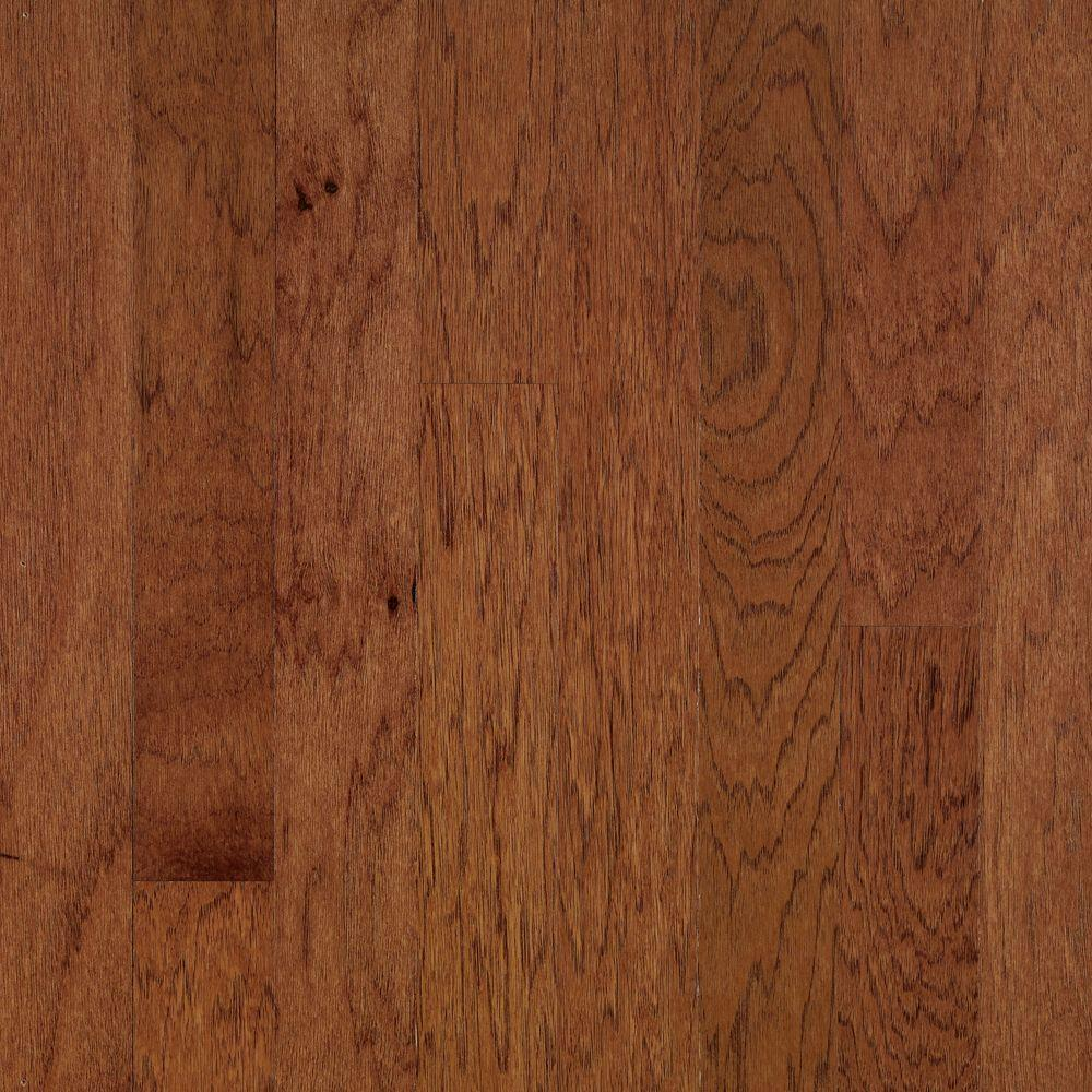 Bruce Brandywine Hickory 3/8 in. Thick x 3 in. Wide x 48 in. Length Engineered Click Lock Hardwood Flooring (22 sq. ft. /case)