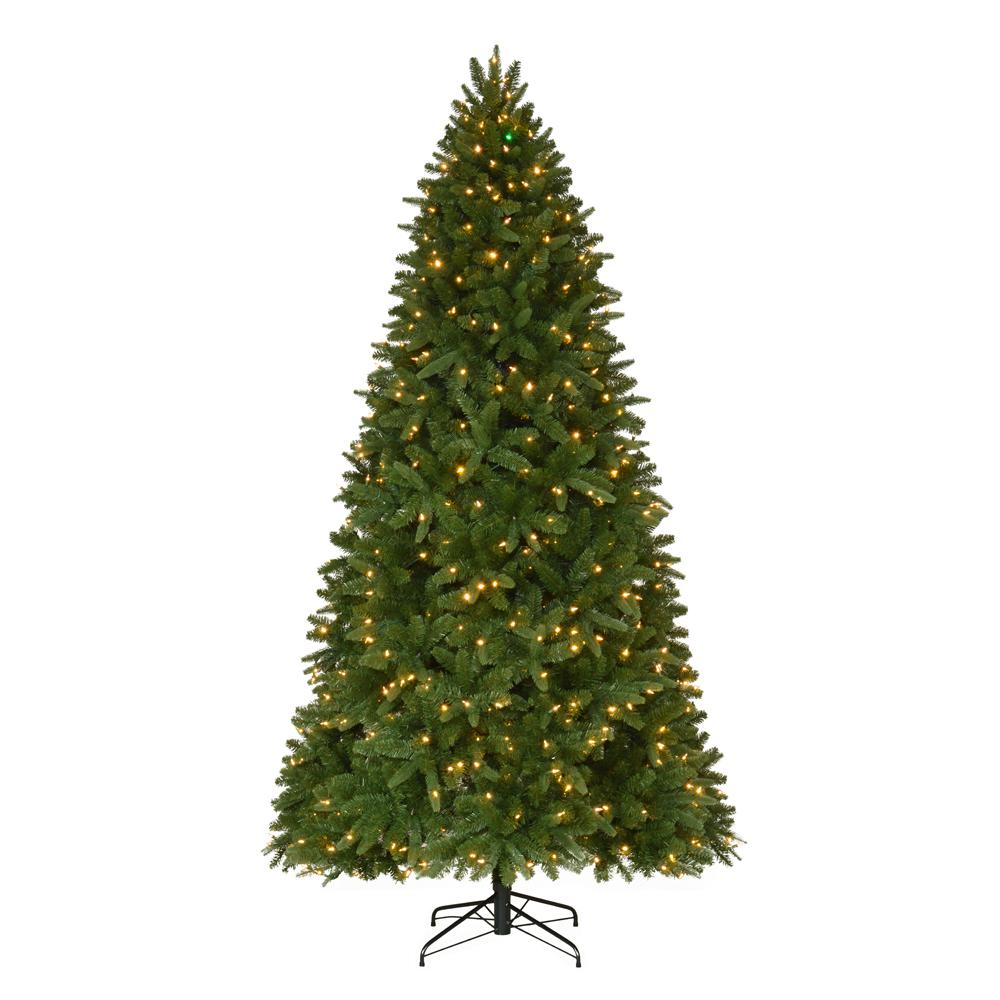 pre lit led sierra nevada artificial christmas tree with - Pre Lit Christmas Trees