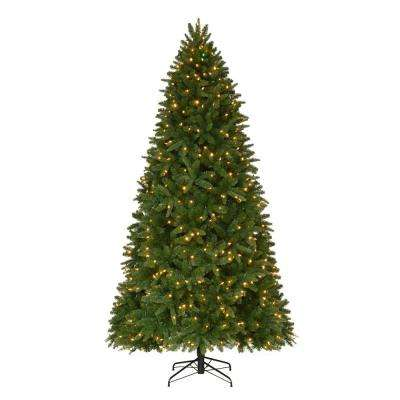 9 ft. Pre-Lit LED Sierra Nevada Artificial Christmas Tree with Color Changing Lights