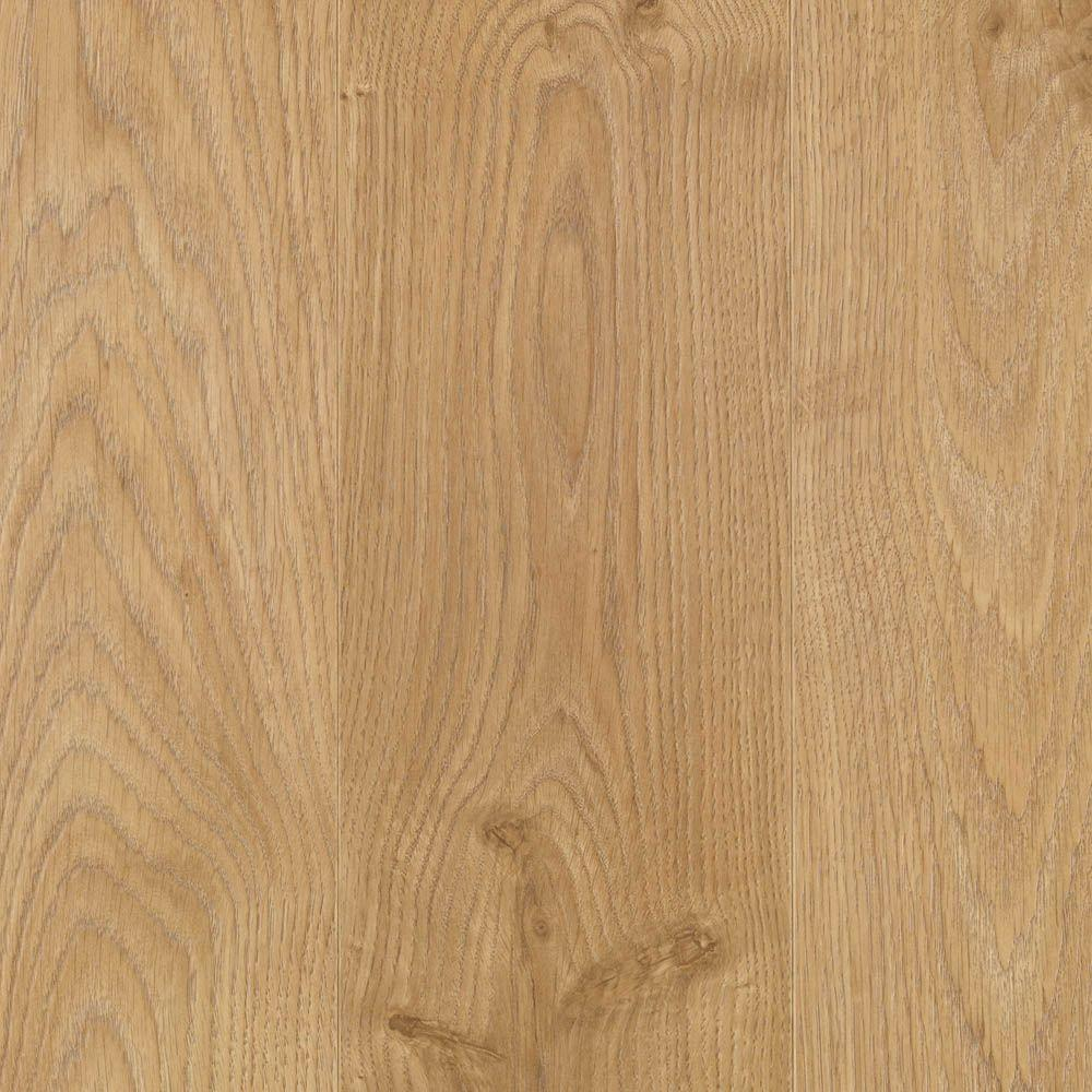 Mohawk Rustic Wheat Oak Plank 8 mm Thick x 6-1/8 in. Wide x 54-11/32 in. Length Laminate Flooring (18.54 sq. ft. / case)