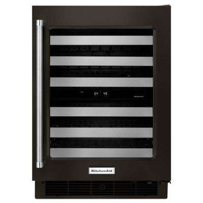 24 in. W 46-Bottle Dual Zone Wine Cellar