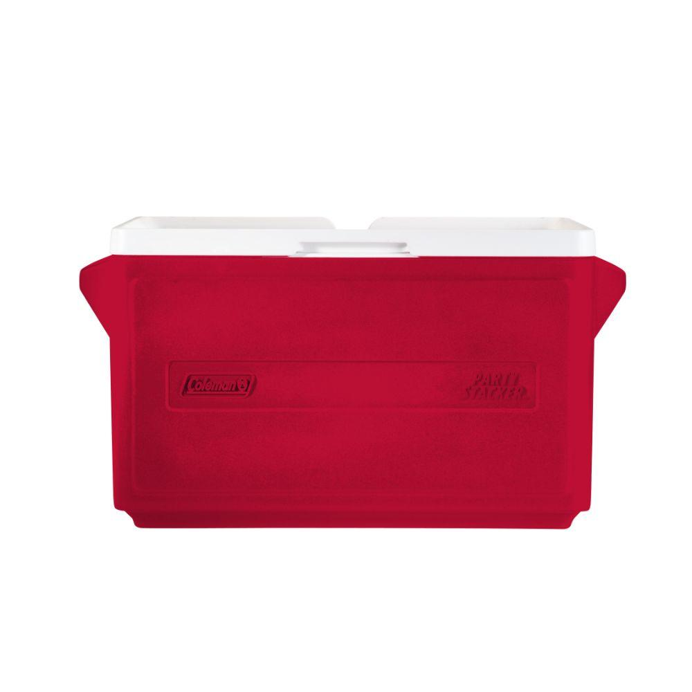 33 Qt. Party Stacker Cooler,  Reds/Pinks
