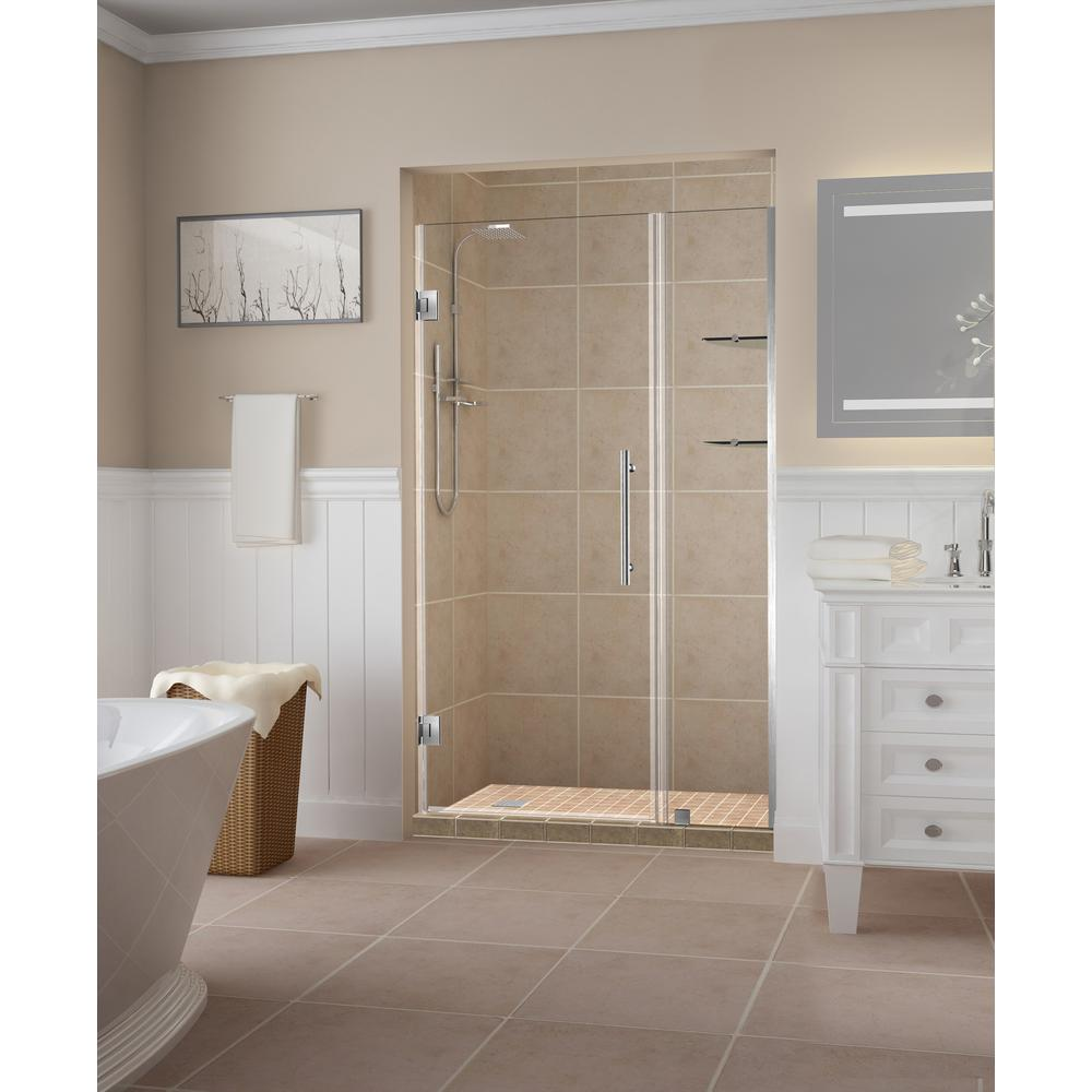 Aston Belmoregs 42 25 In To 43 25 In X 72 In Frameless Hinged