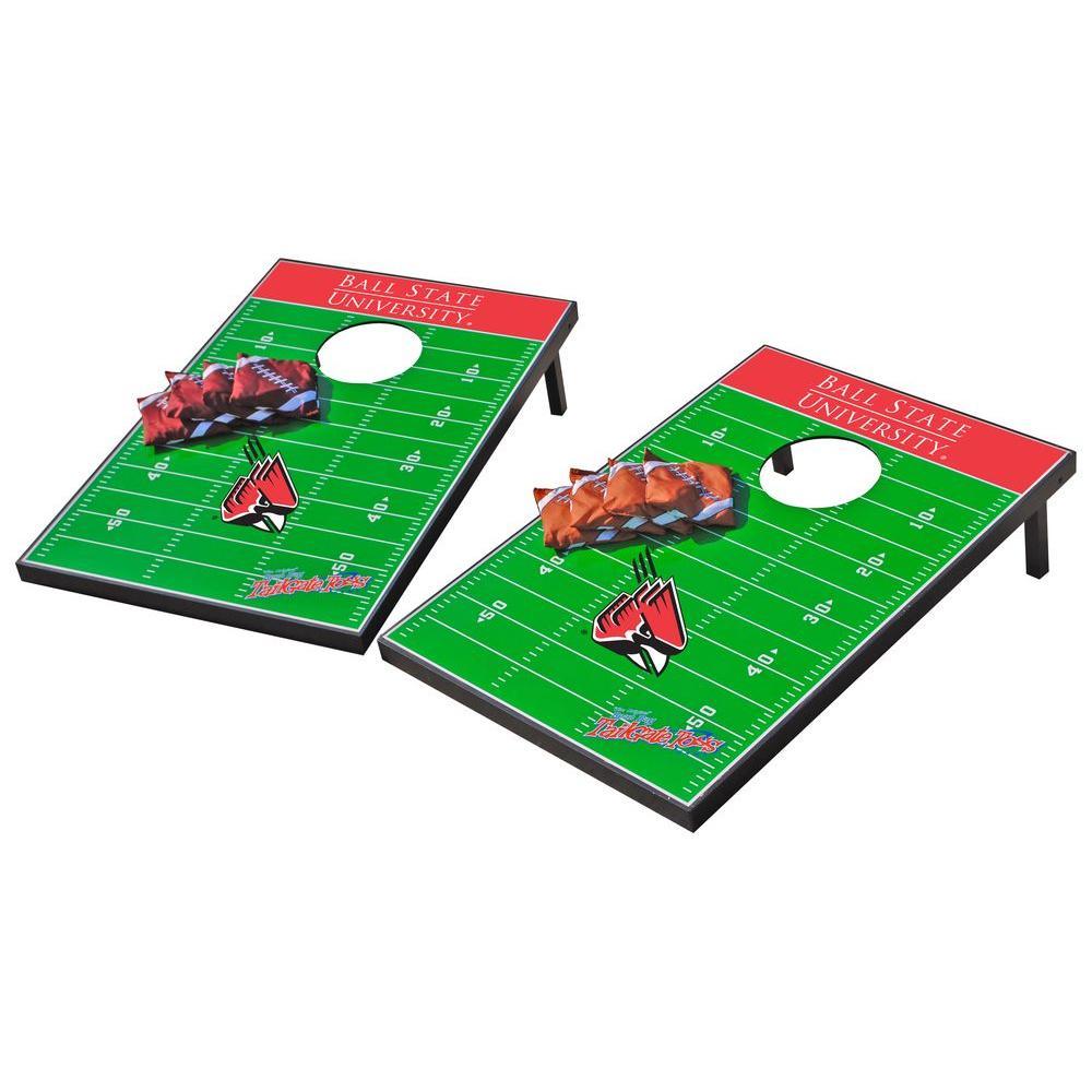 Wild Sports Ball State Cardinals Tailgate Cornhole Toss