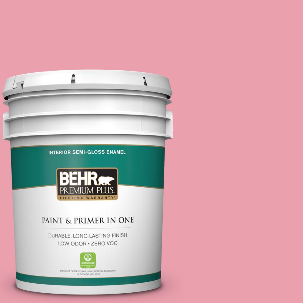 BEHR Premium Plus 5-gal. #P150-3 Pinque Semi-Gloss Enamel Interior Paint