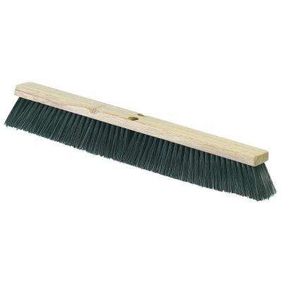 18 inch Polypropylene Medium Sweep Broom (Case of 12)