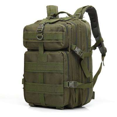 BL047 3P 45 l Outdoor Marching Knapsack Tactical 12 in. Army Green Backpack